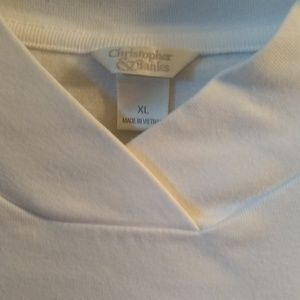 Christopher & Banks Tops - Sleeveless Top with Mock Turtleneck Size XL